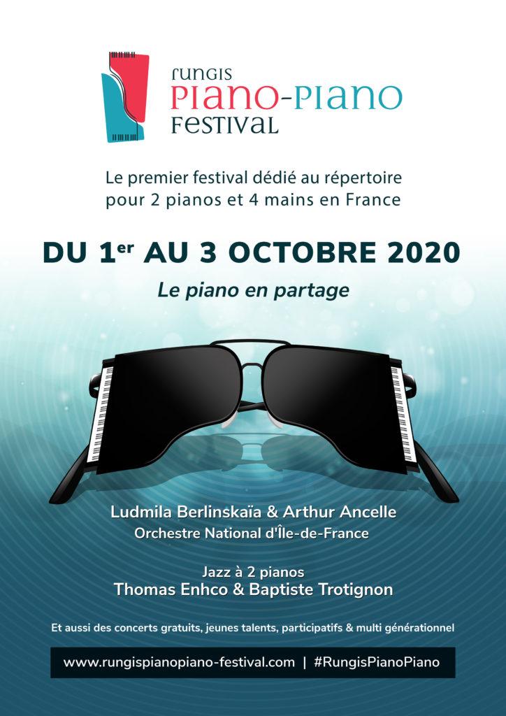 Affiche Piano-Piano Festival 2020