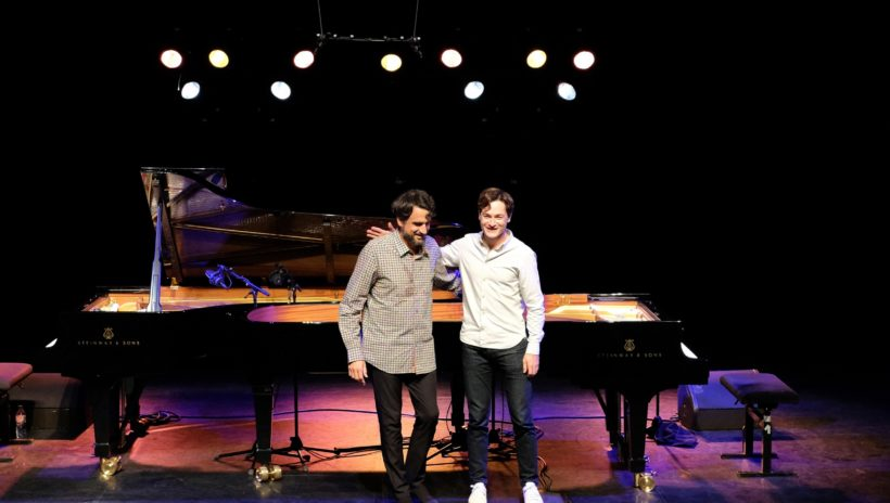 Thomas Enhco & Baptiste Trotignon (c) Laurent Ardhuin